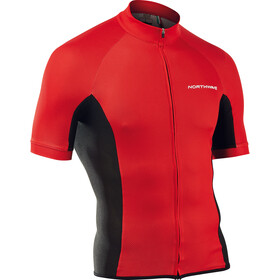 Northwave Force Jersey Korte Mouwen Heren, red
